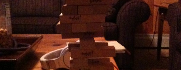 The secret of Jenga