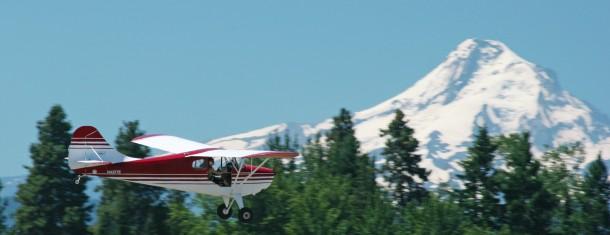 Little Plane. Big Sky.